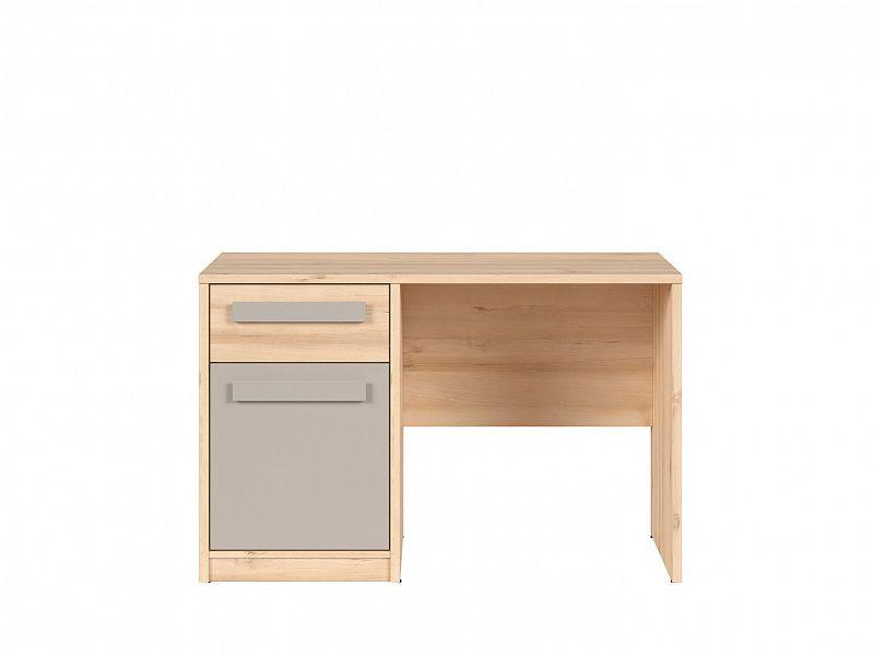 Psací stůl Namek - buk iconic/šedá