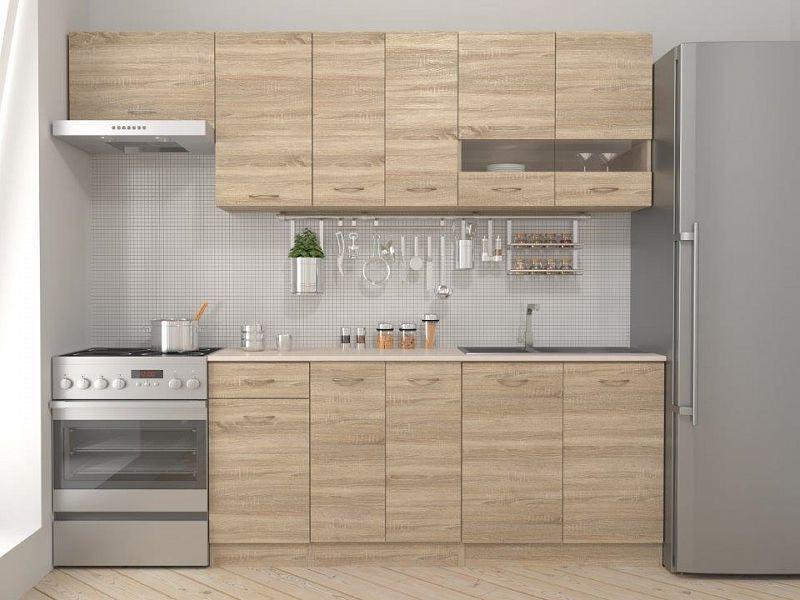 BRW Kuchyň Ramona 240 - Dub sonoma