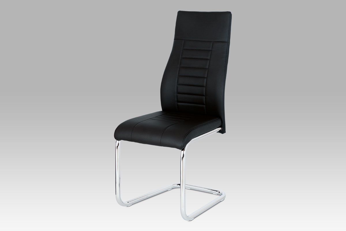 Autronic Jídelní židle HC-955 BK černá koženka