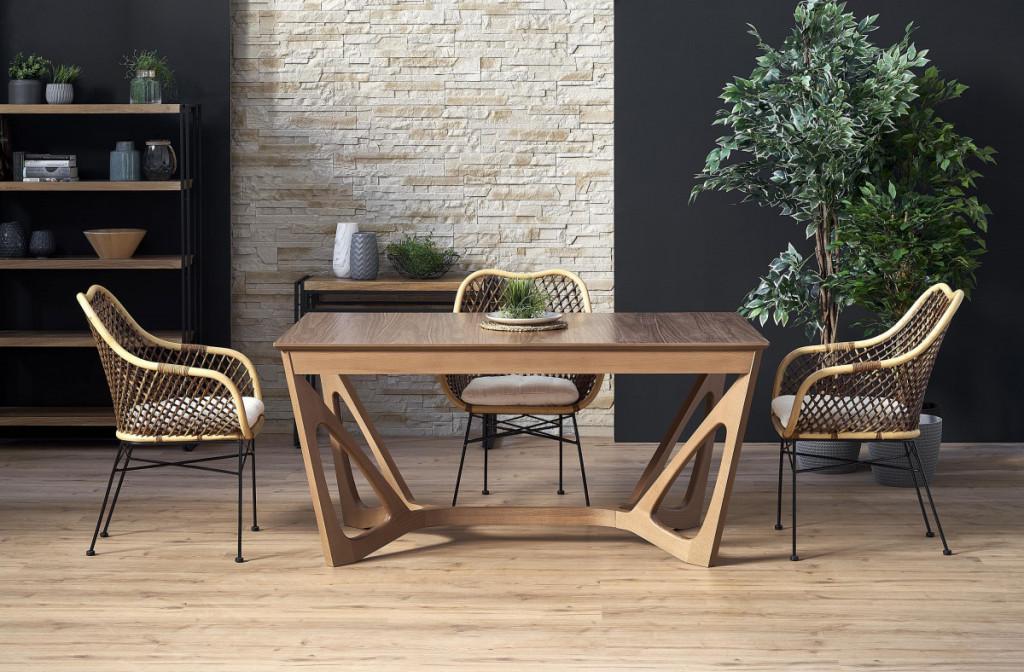 Jídelní stůl Wenanty - ořech