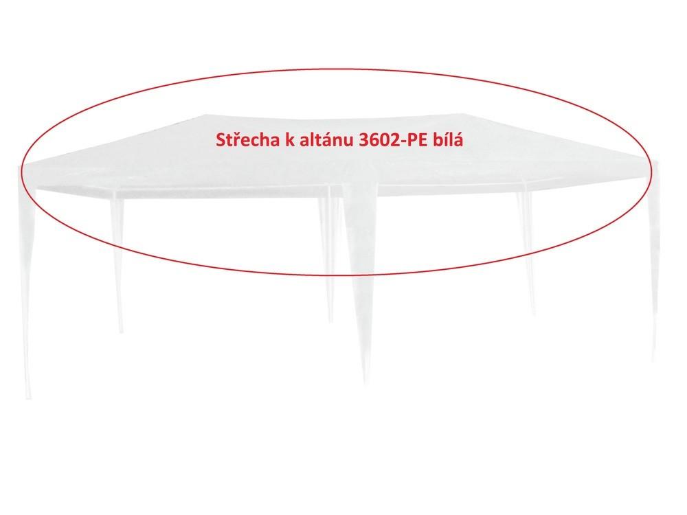 Rojaplast Střecha k altánu 3602-PE bílá