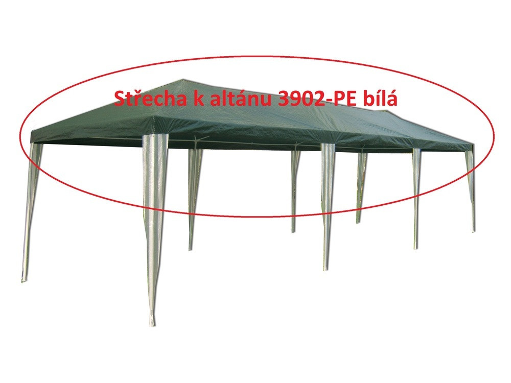 Rojaplast Střecha k altánu 3902-PE bílá