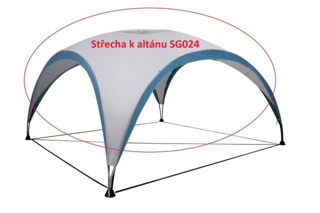 Střecha k altánu SG024