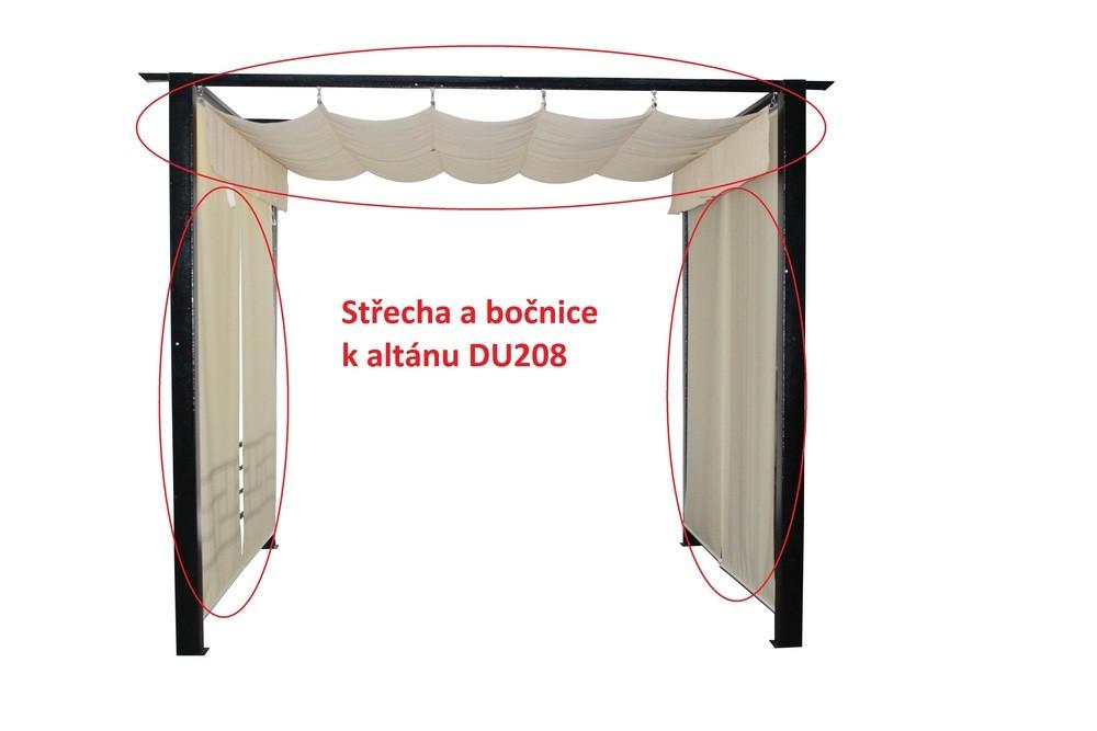 Rojaplast Střecha a bočnice k altánu DU208