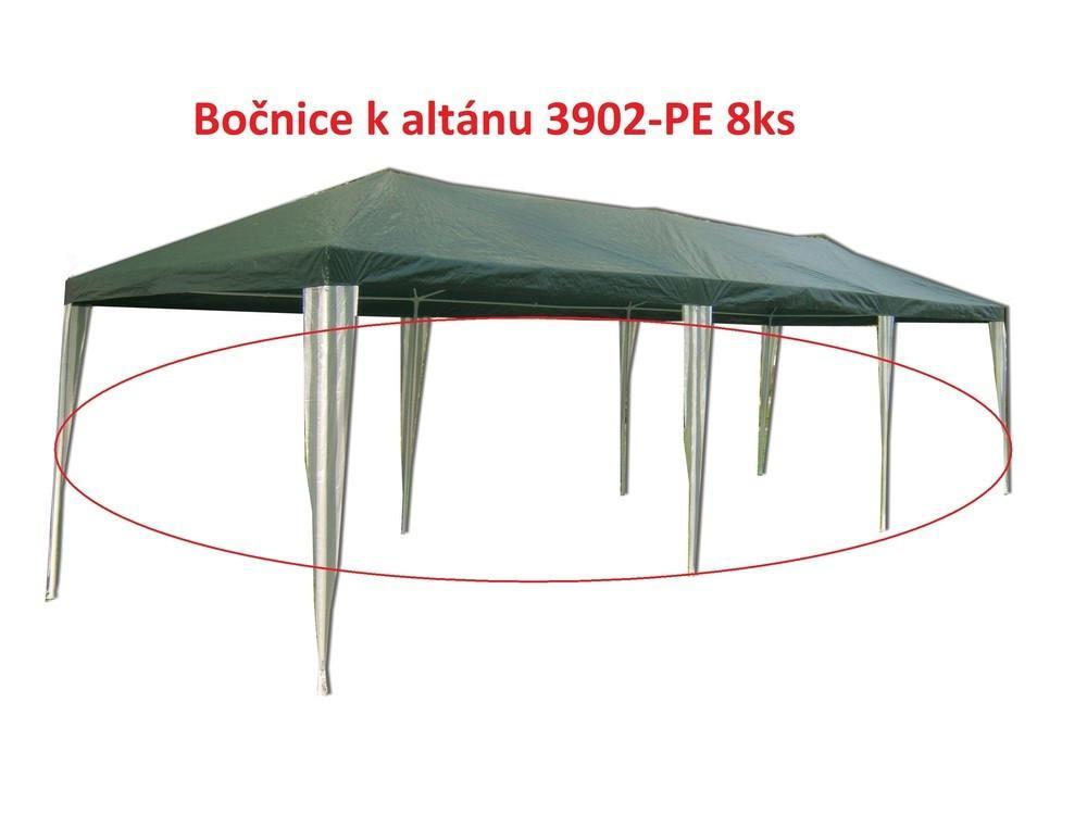 Bočnice k altánu 3902-PE zelené 8ks