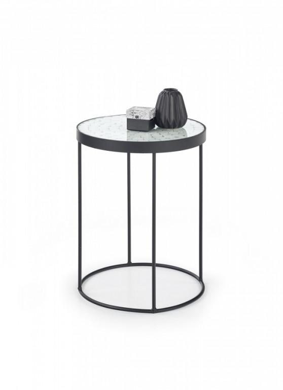 Odkládací stolek Naturo 2 - bílý