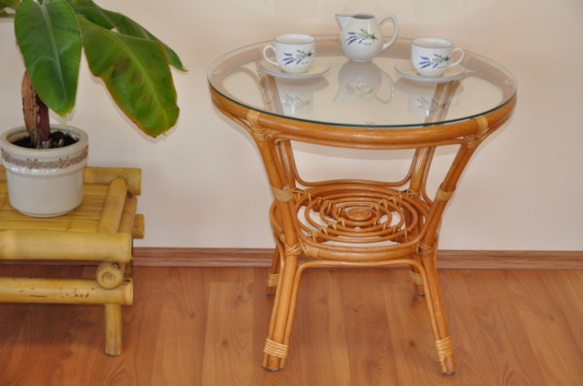 Ratanový stolek Bahama