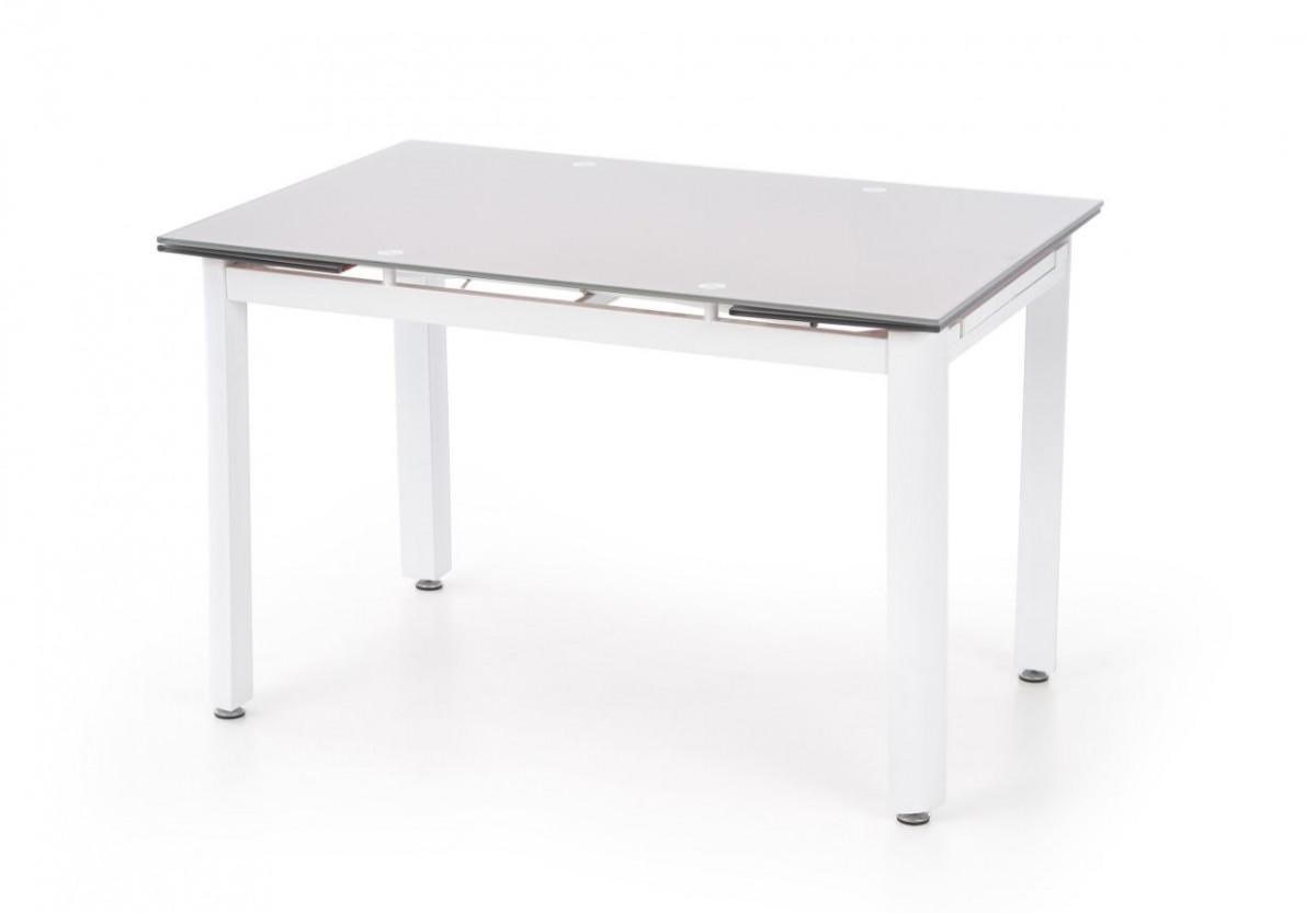 Halmar Jídelní stůl Alston Béžové sklo