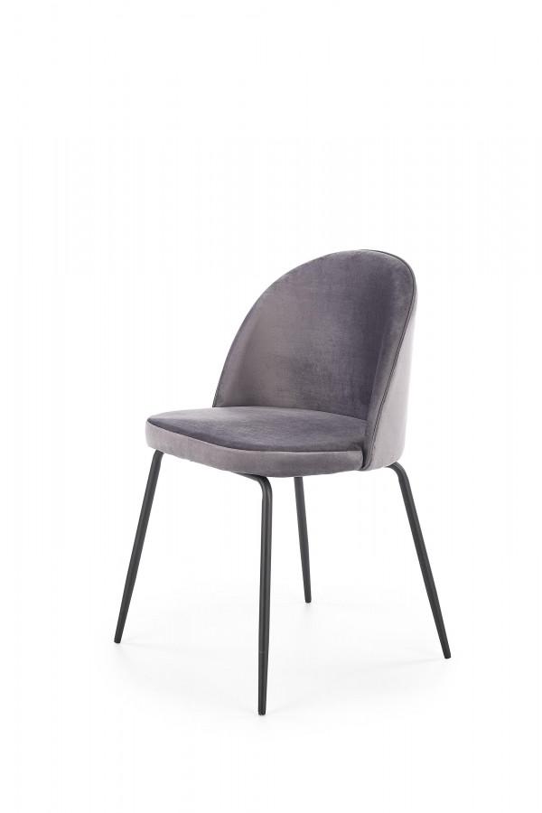Halmar Jídelní židle K-314 - šedá