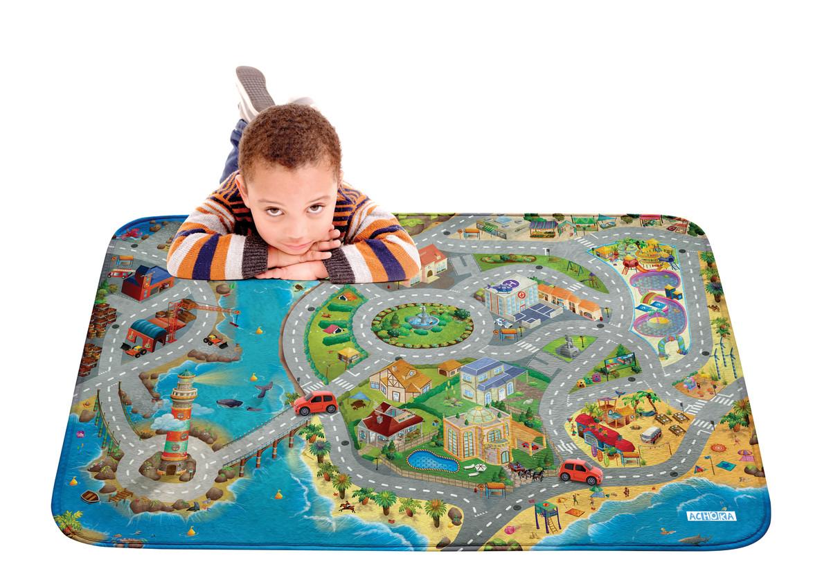 Forclaire Dětský koberec na hraní Soft Pobřeží
