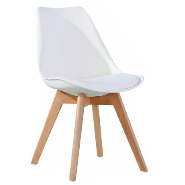 Tempo Kondela Jídelní židle BALI 2 NEW - bílá / buk + kupón KONDELA10 na okamžitou slevu 3% (kupón uplatníte v košíku)