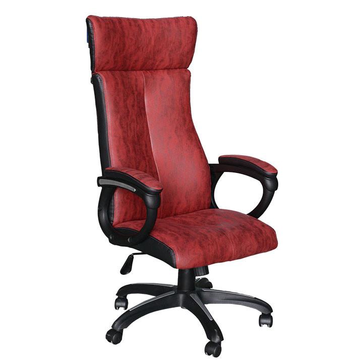Tempo Kondela Kancelářské křeslo MERSIN - červená/černá + kupón KONDELA10 na okamžitou slevu 3% (kupón uplatníte v košíku)