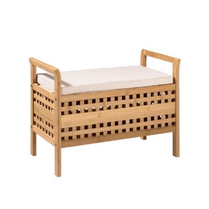 Tempo Kondela Lavice TOLOSA - bambus přírodní / béžová + kupón KONDELA10 na okamžitou slevu 3% (kupón uplatníte v košíku)