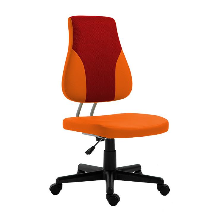 Tempo Kondela Dětská rostoucí židle RANDAL - oranžová / červená + kupón KONDELA10 na okamžitou slevu 3% (kupón uplatníte v košíku)