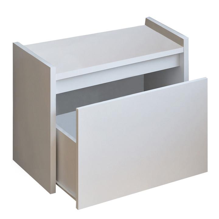 Tempo Kondela Lavice s úložným prostorem BERGI - bílá + kupón KONDELA10 na okamžitou slevu 3% (kupón uplatníte v košíku)