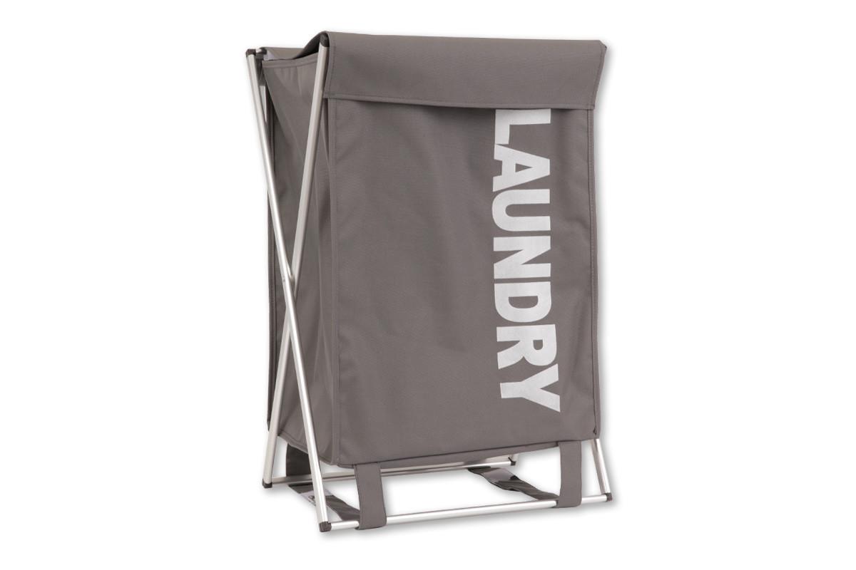 Autronic Koš na prádlo látkový DD3111 - barva šedá
