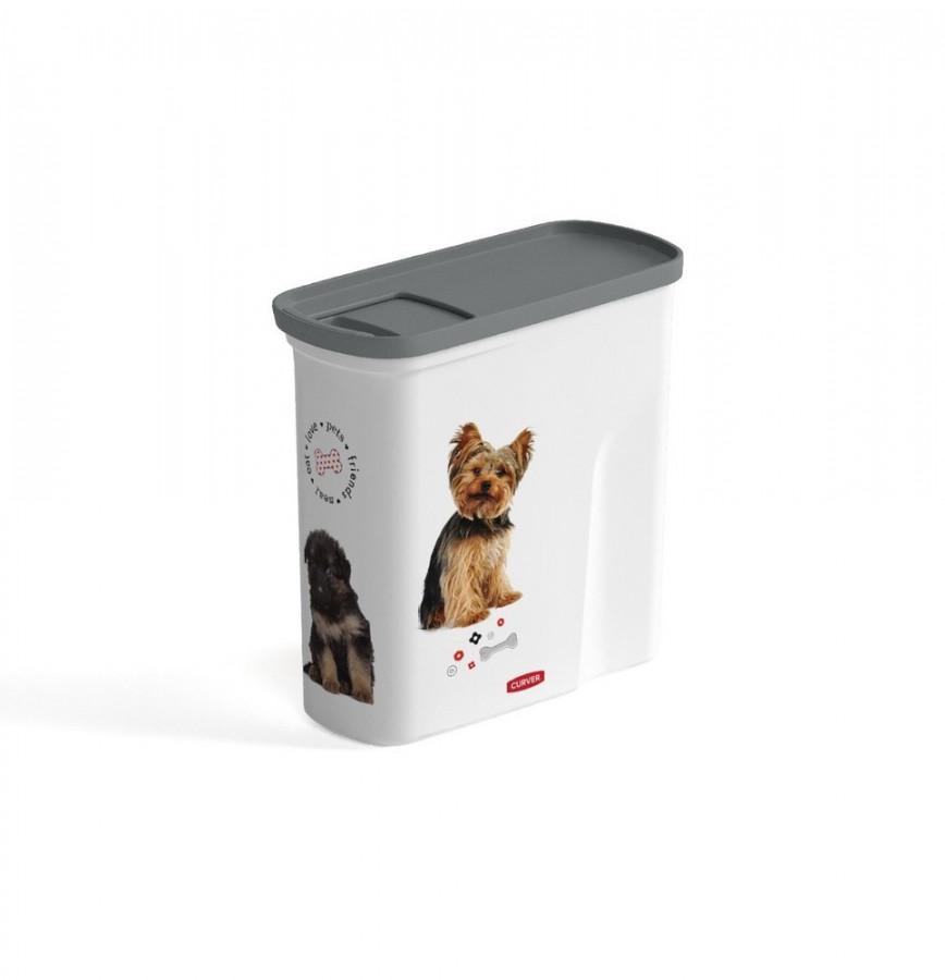 Curver Kontejner na krmivo 2L - pets friends / DOG