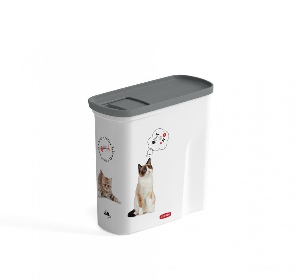 Curver Kontejner na krmivo 2L - pets friends / CAT