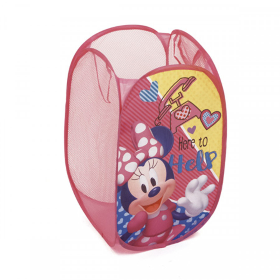 Forclaire Dětský skládací koš na hračky Minnie Mouse