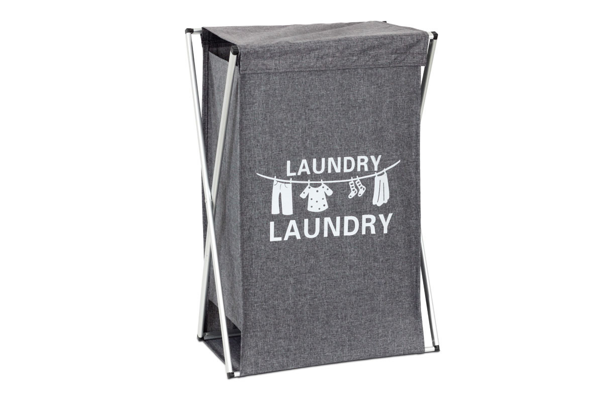 Autronic Koš na prádlo látkový DD3106, barva šedá
