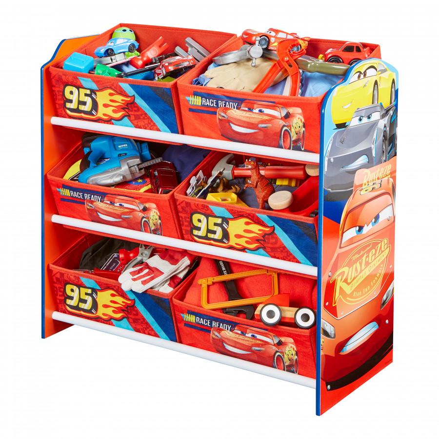 Forclaire Organizér na hračky Cars lll