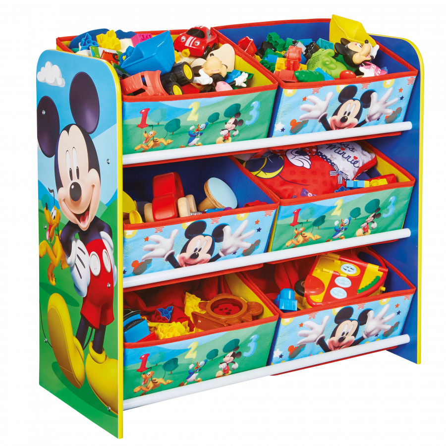 Forclaire Organizér na hračky Mickey Mouse Clubhouse