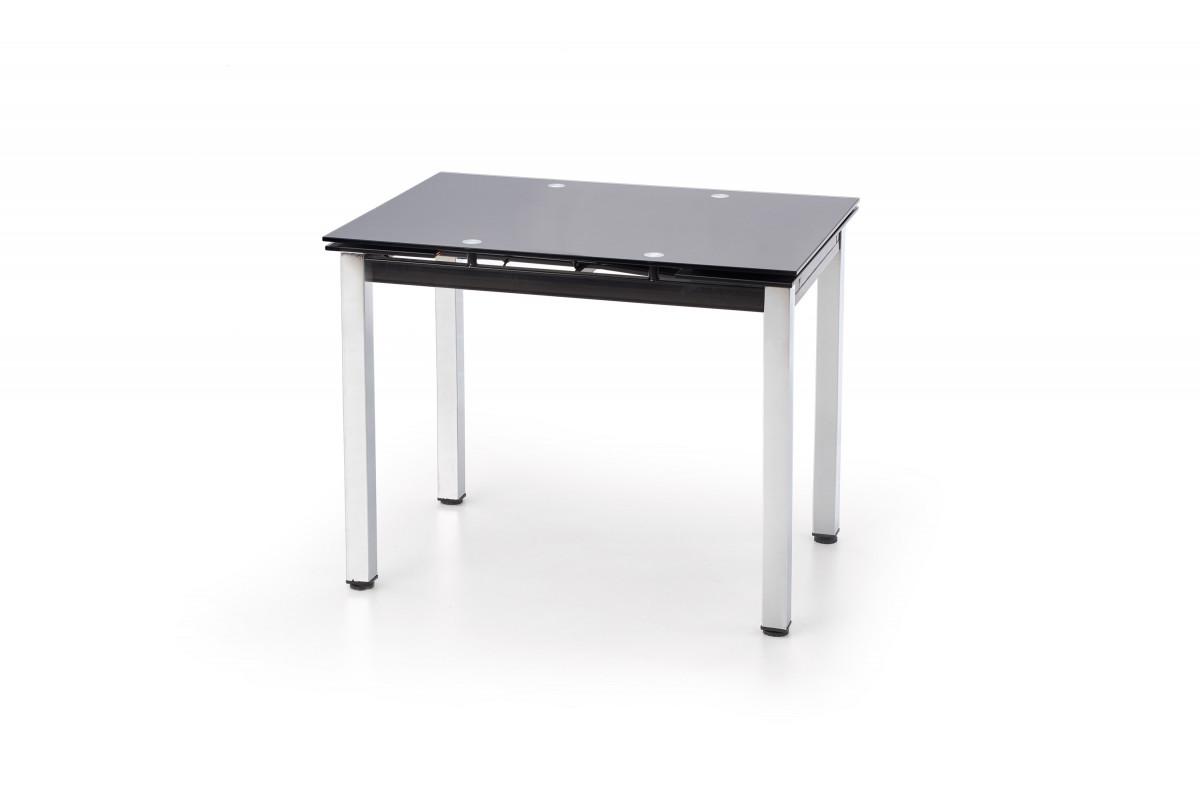 Halmar Jídelní stůl Logan Černé sklo