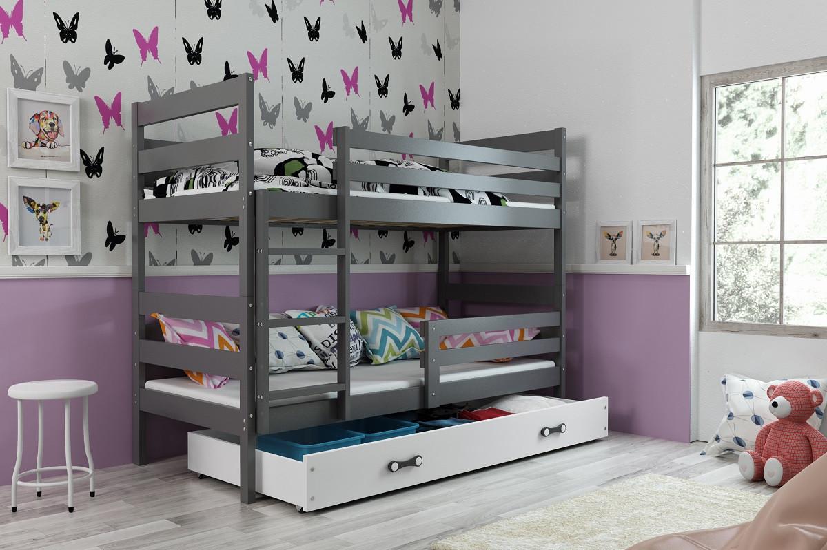 Falco Patrová postel s přistýlkou Norbert grafit