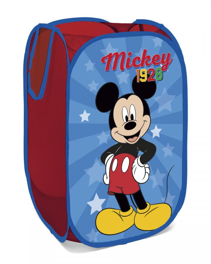 Forclaire Dětský skládací koš na hračky Mickey
