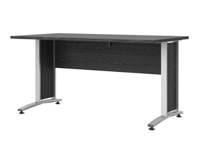 Falco Psací stůl Office 402/437 černá/silver grey