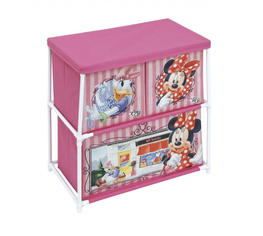 Forclaire Dětský organizér na hračky Minnie Mouse