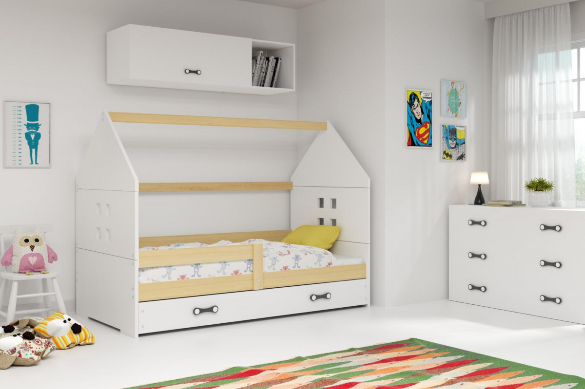 Falco Dětská postel Dominik 80x160 borovice/bílá