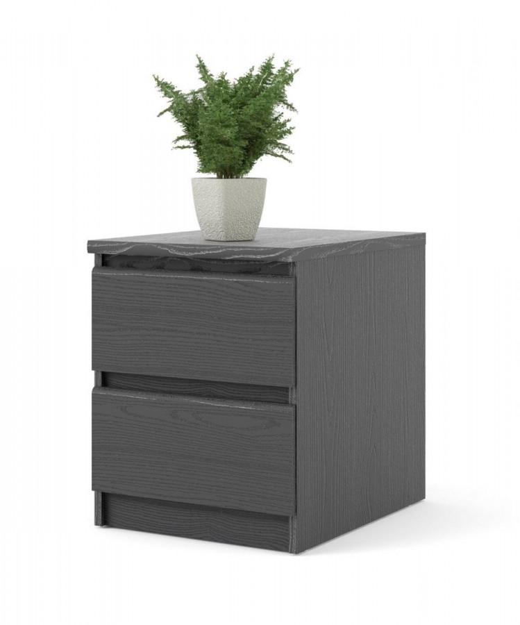 Falco Noční stolek Simplicity 069 woodgrain černý