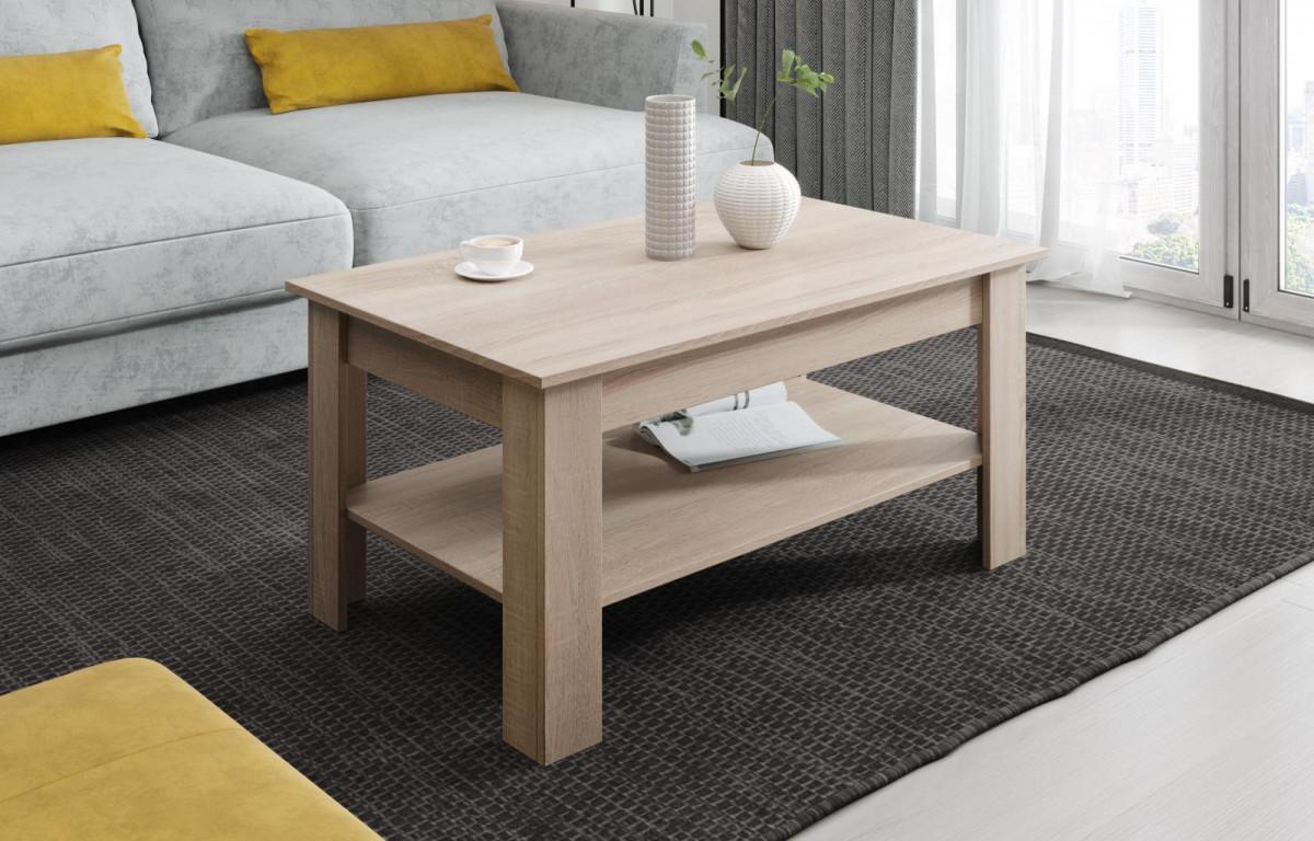 Falco Konferenční stolek Viola dub sonoma