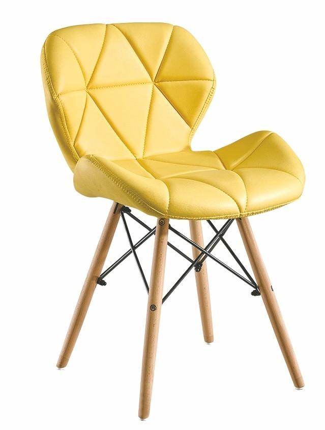 Casarredo Jídelní židle BOSSE žlutá