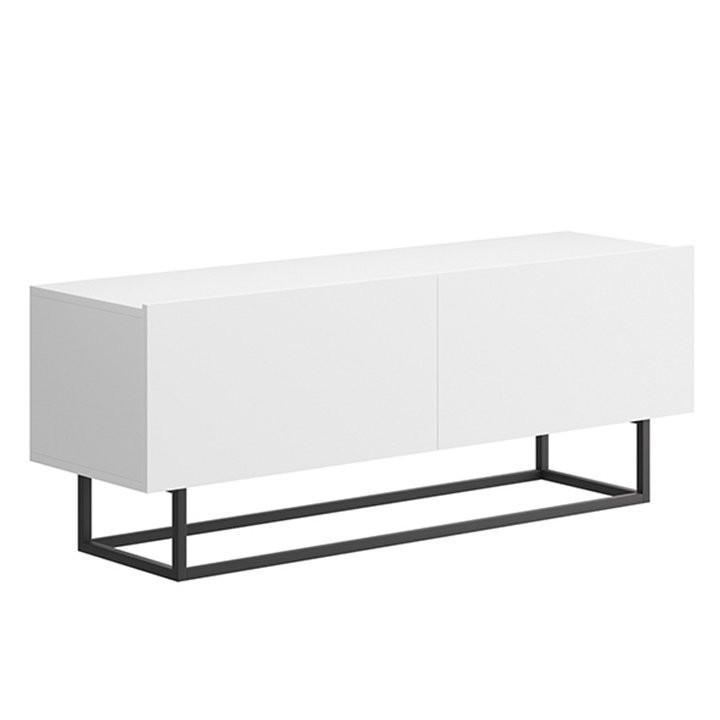 Tempo Kondela Televizní stolek SPRING ERTV120 - bílá + kupón KONDELA10 na okamžitou slevu 3% (kupón uplatníte v košíku)