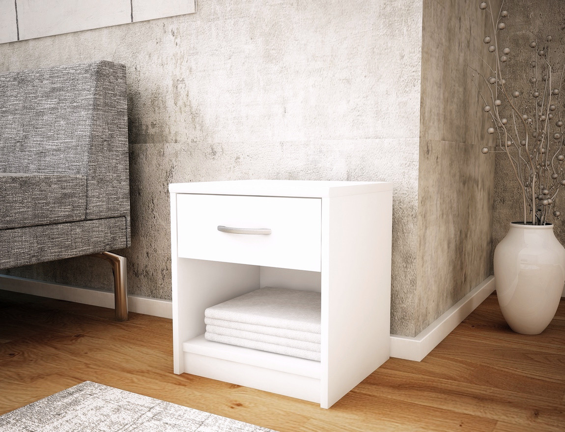 Casarredo Noční stolek MARK 026 bílá