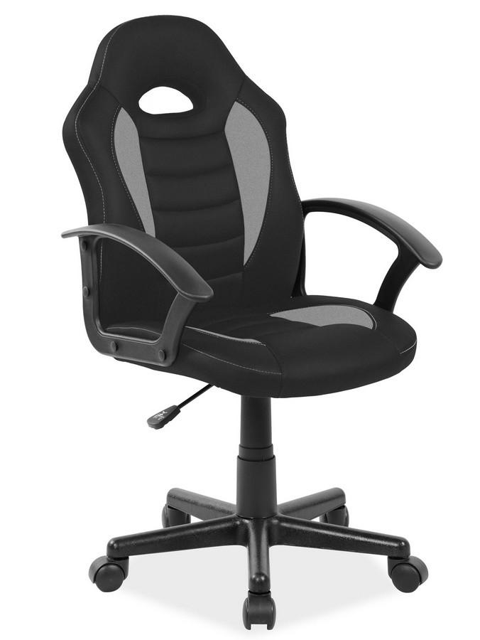 Casarredo Kancelářské křeslo Q-101 černá/šedá
