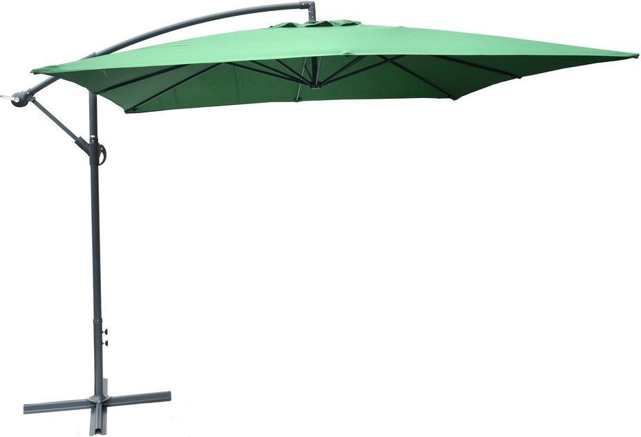 Rojaplast Slunečník kovový NEPROMOKAVÝ 8080 - 270x270cm - zelený