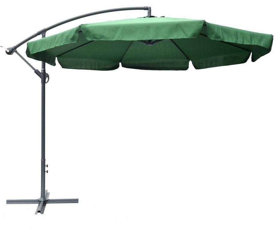 Rojaplast Slunečník EXCLUSIVE boční ø300 cm - zelený