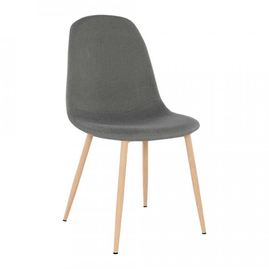 Tempo Kondela Židle LEGA - tmavě šedá + kupón KONDELA10 na okamžitou slevu 3% (kupón uplatníte v košíku)