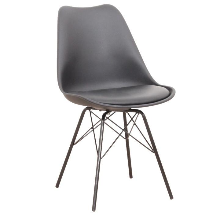 Tempo Kondela Židle TAMORA - černá + kupón KONDELA10 na okamžitou slevu 3% (kupón uplatníte v košíku)