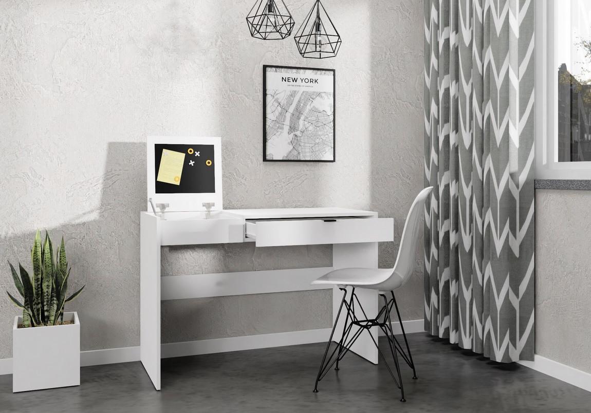 Casarredo Pracovní stůl SONORA bílý