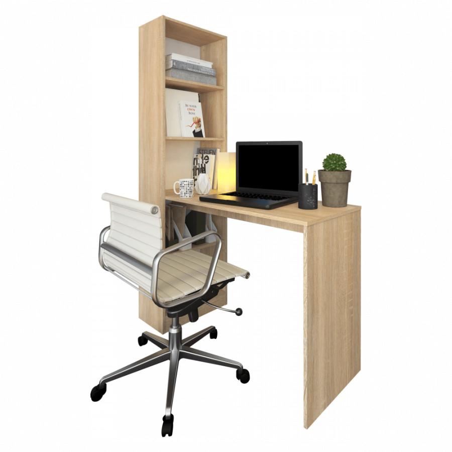 Tempo Kondela Víceúčelový psací stůl JASMIN - dub sonoma + kupón KONDELA10 na okamžitou slevu 3% (kupón uplatníte v košíku)