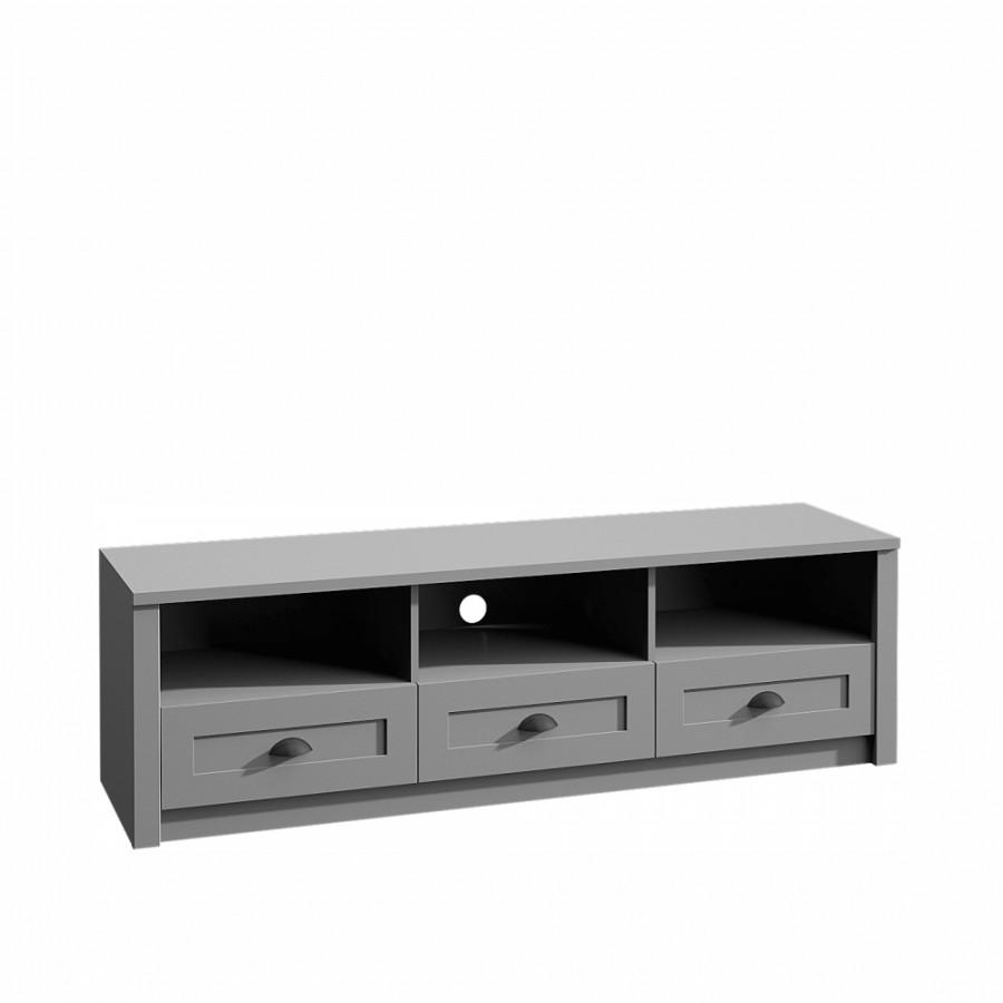 Tempo Kondela Televizní stolek PROVANCE - šedá + kupón KONDELA10 na okamžitou slevu 3% (kupón uplatníte v košíku)