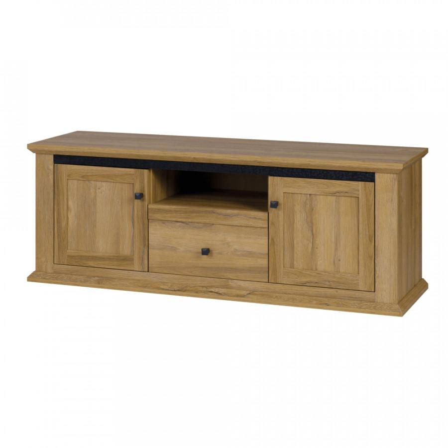 Tempo Kondela Televizní stolek LEON MZ15 - dub grand + kupón KONDELA10 na okamžitou slevu 3% (kupón uplatníte v košíku)