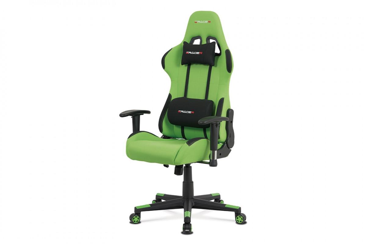 Levně Autronic Kancelářská židle KA-F05 GRN