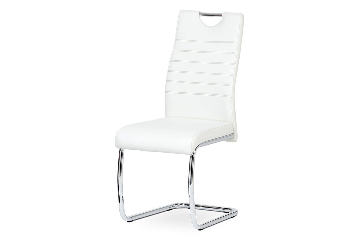 Autronic Jídelní židle DCL-418 WT - bílá