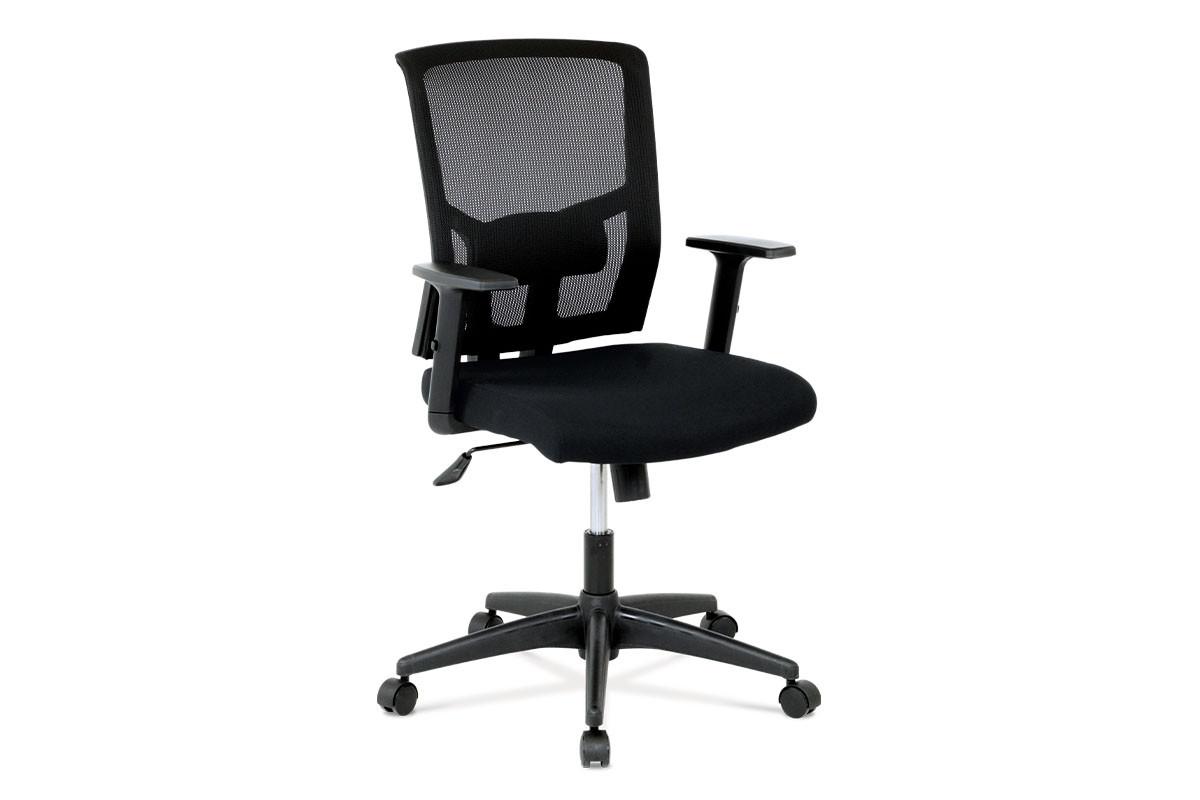 Autronic Kancelářská židle KA-B1012 BK - látka černá