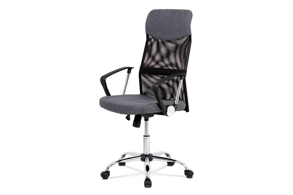 Autronic Kancelářská židle KA-E301 BK - černá látka + černá MESH